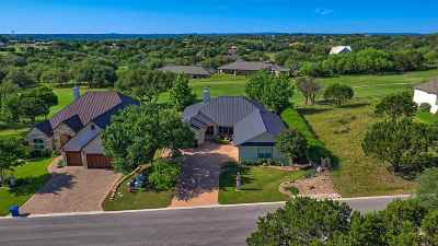 Horseshoe Bay TX Single Family Home For Sale: $435,000