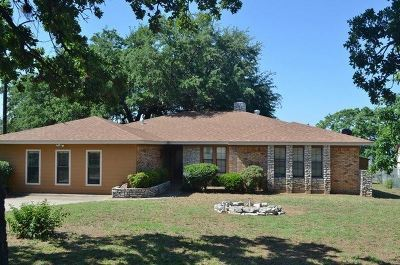 Burnet Single Family Home For Sale: 110 S. Chaparral