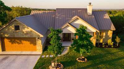 Horseshoe Bay TX Single Family Home For Sale: $399,000