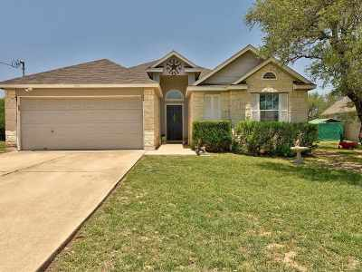 Burnet County Single Family Home For Sale: 206 Knights Row