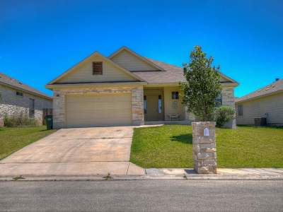Burnet Single Family Home For Sale: 103 Gregory