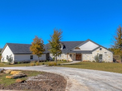 Marble Falls Single Family Home For Sale: 104 Hidden View Trails