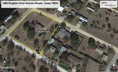 Granite Shoals Single Family Home Pending-Taking Backups: 1406 Kingfish