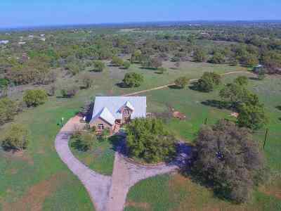 Bosque County, Bell County, Burnet County, Calhoun County, Coryell County, Lampasas County, Limestone County, Llano County, McLennan County, Mills County, Milam County, San Saba County, Williamson County, Hamilton County, Travis County, Comal County, Comanche County, Kendall County Single Family Home For Sale: 1701 Ranch Road 2323