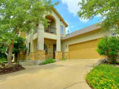 Spicewood Single Family Home For Sale: 21308 Vista Estates