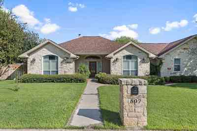 Marble Falls Single Family Home For Sale: 807 Woodland Park