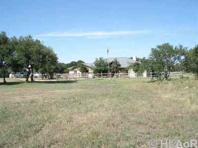 Burnet County Farm & Ranch For Sale: 500 Painted Horse