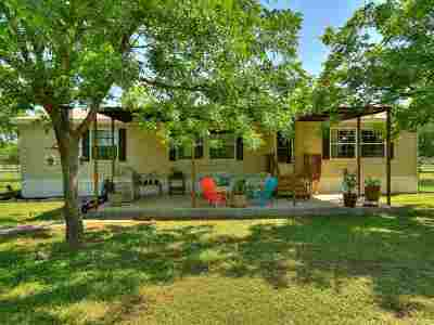 marble falls Single Family Home For Sale: 2401 Fm 1980