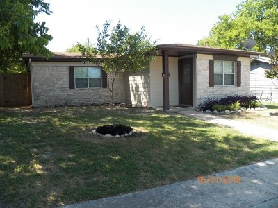 Burnet Single Family Home Pending-Taking Backups: 1007 E Live Oak