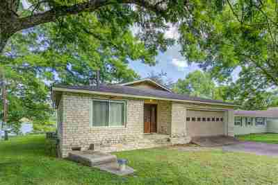 Marble Falls Single Family Home For Sale: 903 Lakeshore Dr