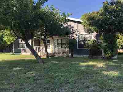 Burnet Single Family Home Pending-Taking Backups: 509 N Pierce
