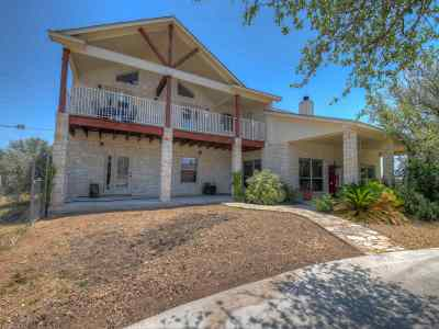 Marble Falls Single Family Home For Sale: 645 Rocky Rd
