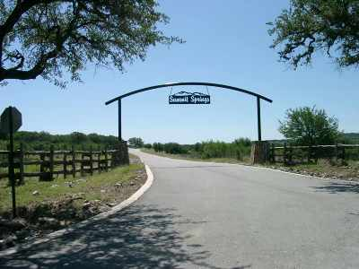 Marble Falls Residential Lots & Land For Sale: Lot 90 Bosque Trail