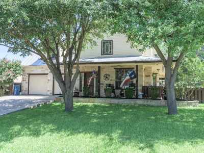 Marble Falls Single Family Home For Sale: 203 Villa Vista Way