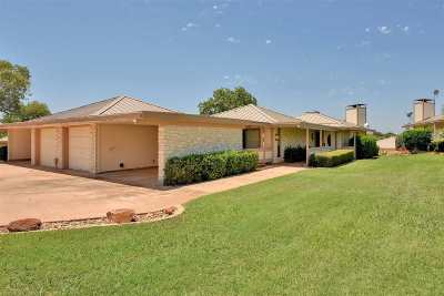 Horseshoe Bay TX Single Family Home For Sale: $244,900