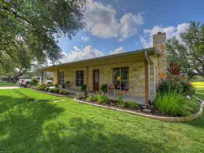 Burnet Single Family Home For Sale: 1455 Cr 200