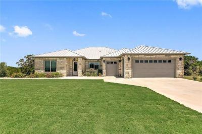 Burnet Single Family Home Pending-Taking Backups: 800 County Road 200b