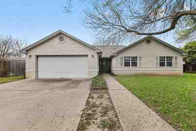 Burnet Single Family Home For Sale: 314 N Hill
