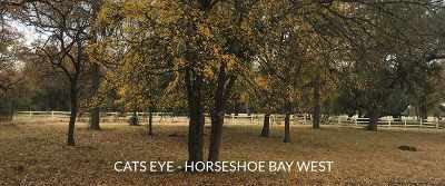 Horseshoe Bay W Residential Lots & Land For Sale: W13020 Cats Eye