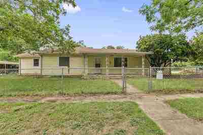 Burnet Single Family Home For Sale: 400 S Pierce