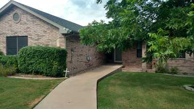 Burnet Single Family Home Pending-Taking Backups: 824 Cottonwood