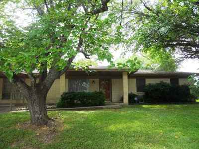 Burnet Single Family Home Pending-Taking Backups: 307 Julie