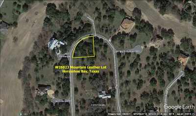 Horseshoe Bay W Residential Lots & Land For Sale: Mountain Leather