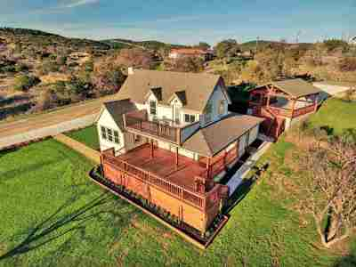 Bell County, Bosque County, Burnet County, Calhoun County, Coryell County, Lampasas County, Limestone County, Llano County, McLennan County, Milam County, Mills County, San Saba County, Williamson County, Hamilton County Single Family Home For Sale: 700 County Road 140