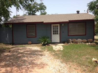 Burnet County Single Family Home For Sale: 1109 Hill Rose