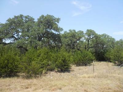 Burnet TX Residential Lots & Land Pending-Taking Backups: $140,000