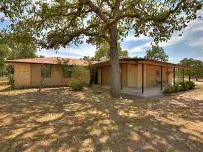 Marble Falls Single Family Home For Sale: 773 County Road 123