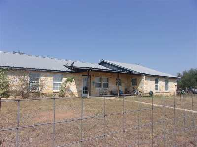 Bosque County, Bell County, Burnet County, Calhoun County, Coryell County, Lampasas County, Limestone County, Llano County, McLennan County, Mills County, Milam County, San Saba County, Williamson County, Hamilton County, Travis County, Comal County, Comanche County, Kendall County Single Family Home For Sale: 590 Wayne Lane Cr 2323