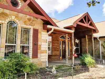 Burnet Single Family Home For Sale: 1800 Cr 100