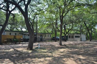 Marble Falls Single Family Home For Sale: 2600 Fm 1980