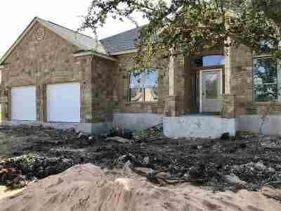 Burnet TX Single Family Home For Sale: $368,500
