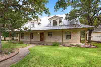 Burnet Single Family Home For Sale: 121 Circle Oak Dr