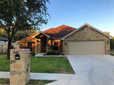 Marble Falls TX Single Family Home For Sale: $308,000