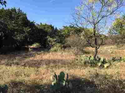 Burnet Residential Lots & Land For Sale: Lot 10, 11, 12 S. Chaparral And Bonaza Dr