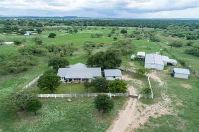 marble falls Single Family Home For Sale: 2633 County Road 120