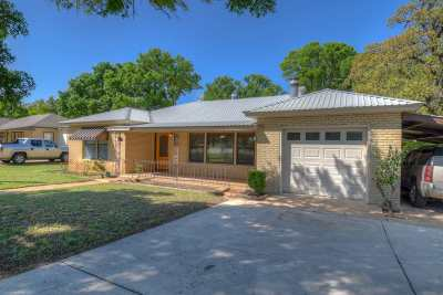 Burnet TX Single Family Home Pending-Taking Backups: $168,500