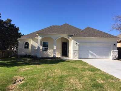 Marble Falls Single Family Home For Sale: 800 Four Oaks