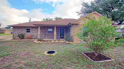 Burnet Single Family Home Pending-Taking Backups: 404 Fifth