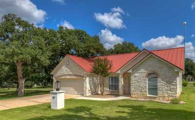Horseshoe Bay W Single Family Home For Sale: 107 Amethyst