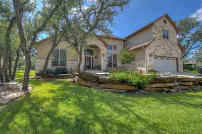 marble falls Single Family Home For Sale: 1000 Madison Circle