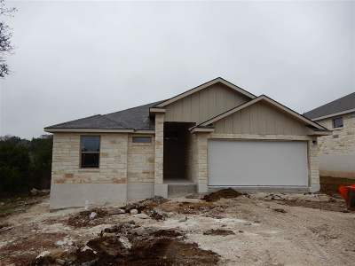 marble falls Single Family Home For Sale: 1323 Primrose Ln