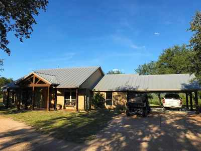Marble Falls Farm & Ranch For Sale: 7040 E Fm 1431