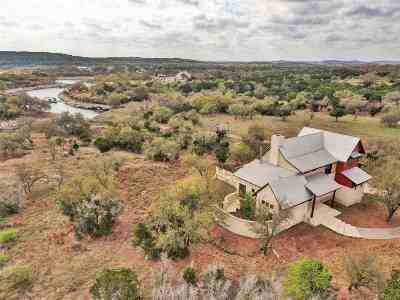 Marble Falls TX Single Family Home For Sale: $850,000