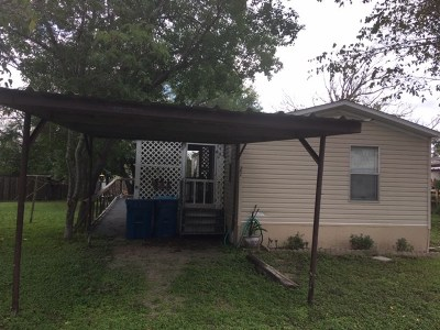 Marble Falls TX Single Family Home For Sale: $35,000