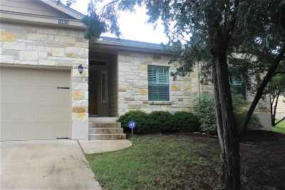 Spicewood Single Family Home For Sale: 1005 Daviot