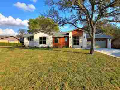 marble falls Single Family Home For Sale: 1507 Northwood